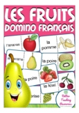 les fruits - French domino game primary school / (fruits)
