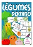 les légumes - French domino game primary school / (vegetab