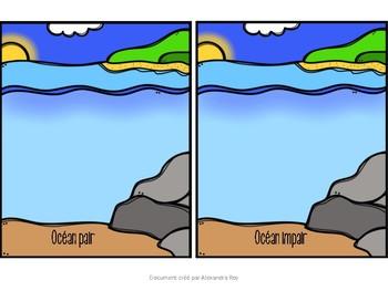 les océans pairs et impairs
