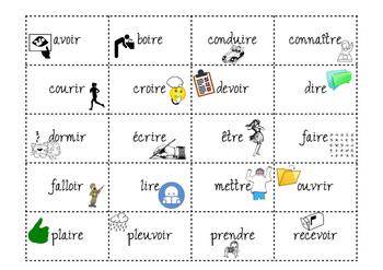 Les Participes Passes Irreguliers Au Passe Compose By Celina Tpt