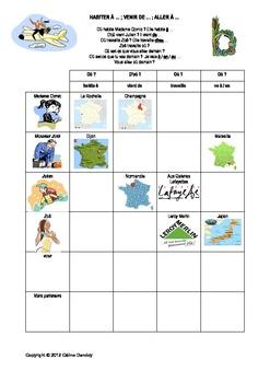 les prepositions francaises