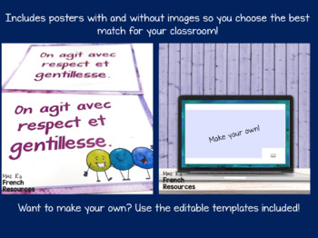 French class rules for secondary