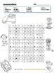 les sports d'hiver - Winter Sports Wordsearch