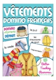 les vêtements - French domino game primary school / (clothes)