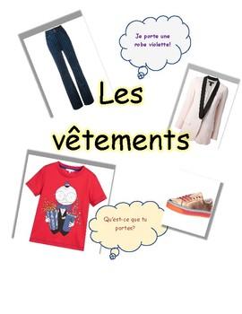 les vêtements - clothing