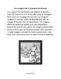 les voyageurs - paragraph reading