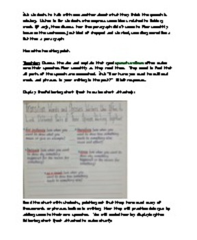 lesson 11 and bonus lesson/ Changing the World Gr3 Unit of Study