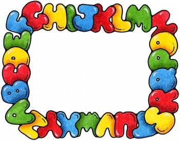 letras N,F,B,J smartboard
