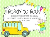 let's ROCK this year! {Classroom management, brain breaks, and more!}