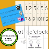 lets make tell the time task cards