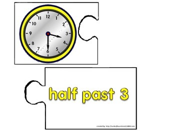 lets play puzzle clock