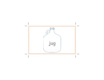 letter J word flashcards