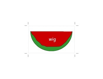 letter W word flashcards