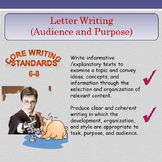 Letter Writing (Audience and Purpose)