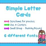 letter cards #dollardeal