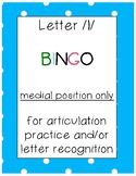 letter /l/ BINGO (medial position only)