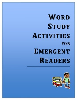 """letter name stage"" word study game and list: initial cons"