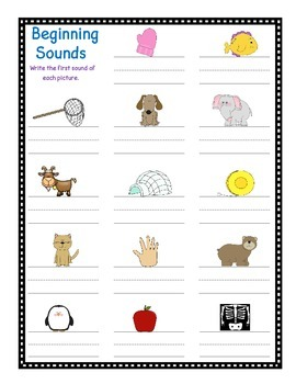 letter names and sounds