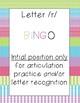 letter /r/ BINGO BUNDLE