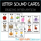 letter sound cards dyslexia cards SPIRE reading method cards A-Z
