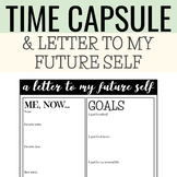 letter to my future self / time capsule