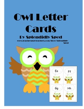 lettercards-owls-prek-5-word wall headers