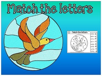 letters match(free worksheet)