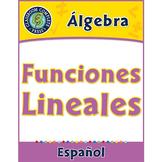 Álgebra: Funciones Lineales Gr. 6-8