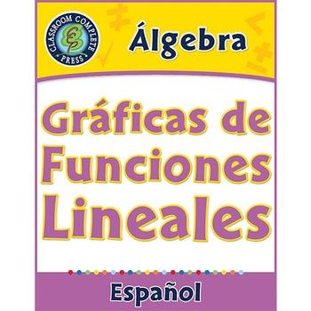 Álgebra: Gráficas de Funciones Lineales Gr. 6-8
