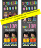 library CHALK - Classroom Decor: LARGE BANNER, You'll LOVE the BOOK!