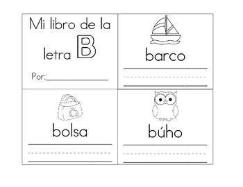 librito de la letra b