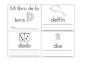 librito de la letra d