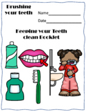 life skill brushing and cleaning your teeth sequencing worksheets