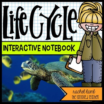 lifecycles interactive science notebook templates