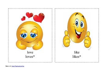 likes and dislikes emoji faces
