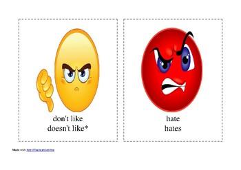 likes and dislikes emoji faces