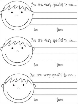 """""""lil"""" notes to & from """"lil"""" people for a happy classroom!"""