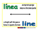 line/linea geom 1-way blue/verde