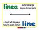 line/linea geom 1-way blue/verde