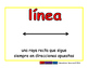 line/linea geom 2-way blue/rojo
