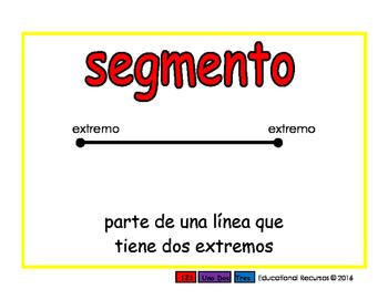 line segment/segmento geom 2-way blue/rojo