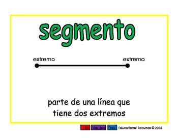 line segment/segmento geom 2-way blue/verde
