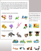 listening/reading comprehension and memory practice - seasons & animals - 8pages