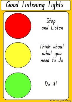 listening traffic lights
