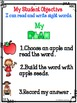 Literacy Center Word Work for Sight Words - Apples