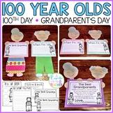 100th Day of School Craft   Grandparent's Day Craft
