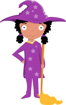 little lavender witch