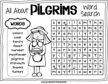 Little Pilgrim Kids {Craftivity}