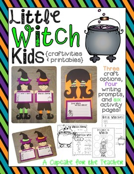 Little Witch Kids {Craftivities & Printables}