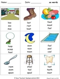 long oo phonics lesson plans, worksheets and other teaching resources